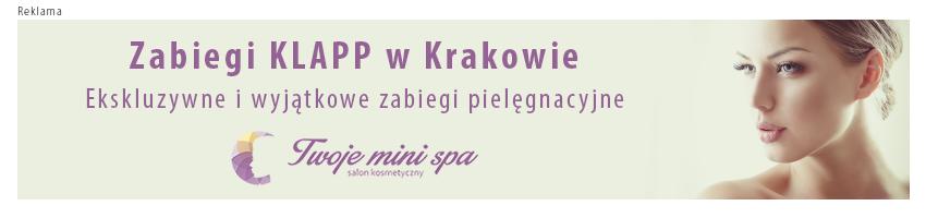 Zabiegi KLAPP Kraków