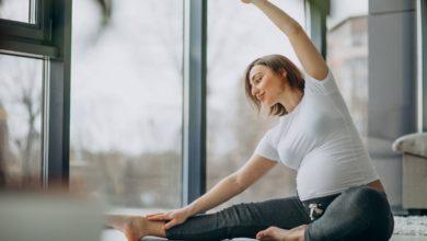 Photo of Joga pomaga na stres w ciąży