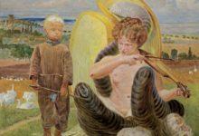 """Photo of """"Pastuszek i chimera"""" autorstwa Jacka Malczewskiego na licytacji"""