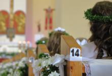 Photo of Pierwsza Komunia Święta w Gielniowie – jedna z osób z koronawirusem