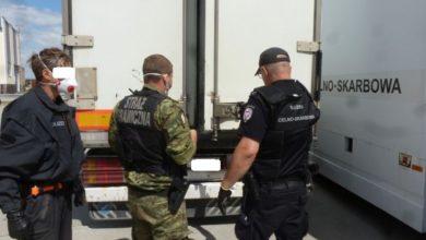 Photo of Obcokrajowcy zatrzymani w chłodni ciężarówki