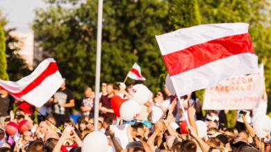 Photo of Białoruś: ludzie w maskach i bez oznaczeń zatrzymują protestujących w Mińsku