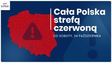 Photo of Premier: cała Polska od soboty strefą czerwoną