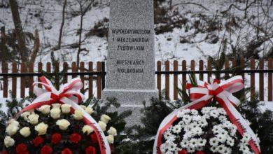 Photo of Pamięć o Ofiarach Holocaustu. Uroczystość na odnowionym cmentarzu wojennym w Wolbromiu