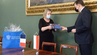 Photo of Wizyta konsul generalnej Francji w Małopolskim Urzędzie Wojewódzkim w Krakowie