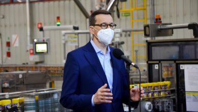 Photo of Premier Mateusz Morawiecki z wizytą w firmie Maspex