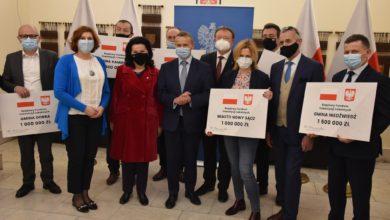 Photo of Wsparcie dla Nowego Sącza i powiatów nowosądeckiego oraz limanowskiego